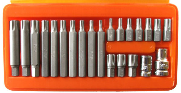Franklin Tools 22 pce Ribe S2 Bit Set M4-M14 4622
