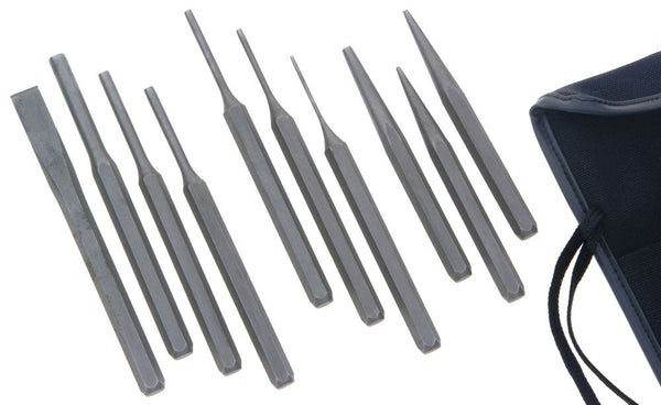 Franklin Tools 10pc CV Punch Set in Roll 4740