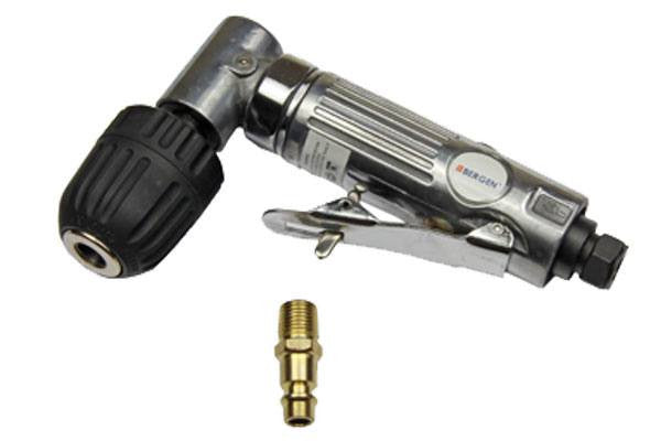 "Bergen 3/8""Dr Angled Keyless Chuck Air Angle Drill B8201"
