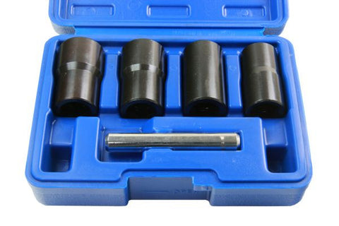 "Bergen 5pc 1/2"" Impact Twist Sockets Nut Remover Damaged Broken Studs Rounded Bolts"