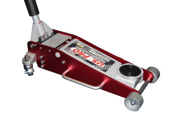 Us Pro 2.5 Tonne Racing Jack Aluminium & steel construction dual pump fast lift