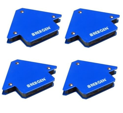 Bergen 4 x 25lb 75mm Arrow Magnetic Welding Clamps Sheet Metal holders B6664X4