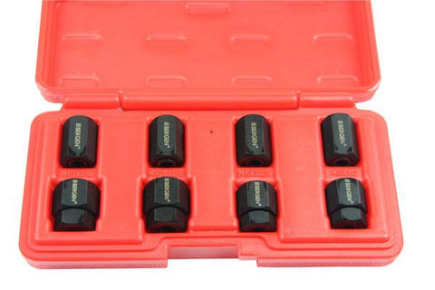 BERGEN Professional 8pc STUD REMOVER & INSTALLER SET Cr-Mo B5809