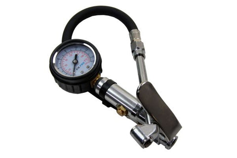 US PRO Compact Air Tyre Inflator with Gauge Cars Motorcycles 200 PSI B8808