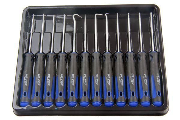 Bergen 12PC PRECISION SCREWDRIVER SET B5007 inc Hook, Torx Flat Slotted