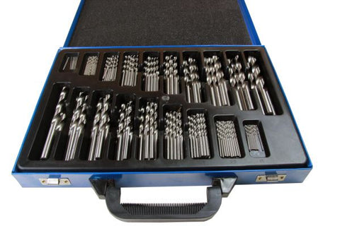 BERGEN 170pc HSS Twist Drill Set 1-10mm B2522