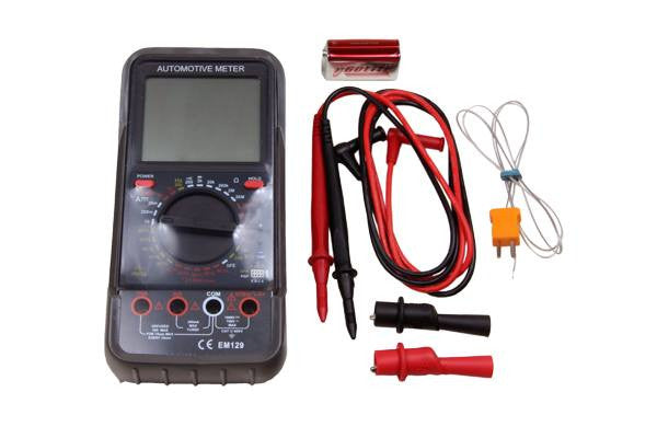 US PRO Automotive Multimeter Meter Big Digital Display