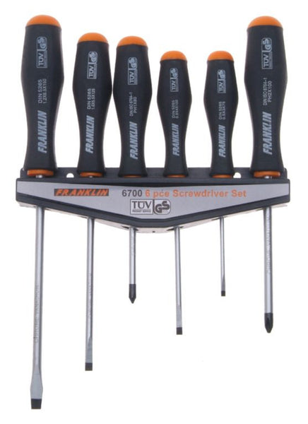 Franklin Tools 6pce Screwdriver Set 6700