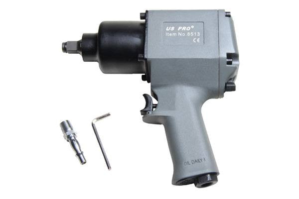 "US PRO 1/2""dr Industrial air impact wrench Gun 590 ft/lb (800NM) B8513"