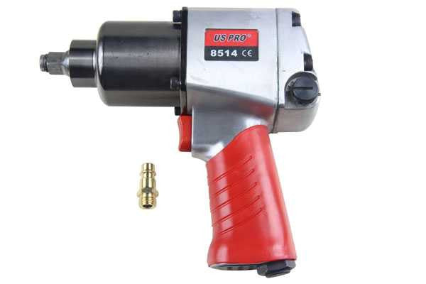 "US PRO 1/2""Dr Air Impact Wrench Gun Twin Hammers 680 ft/lbs 920Nm B8514 Heavy Du"