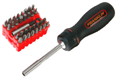 Franklin Tools Ratchet Screwdriver & Bits 8700
