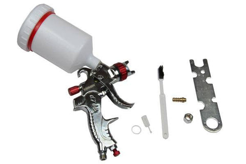 Bergen Gravity FEED HVLP SPRAY GUN NEW IN 1.7mm set up B8701