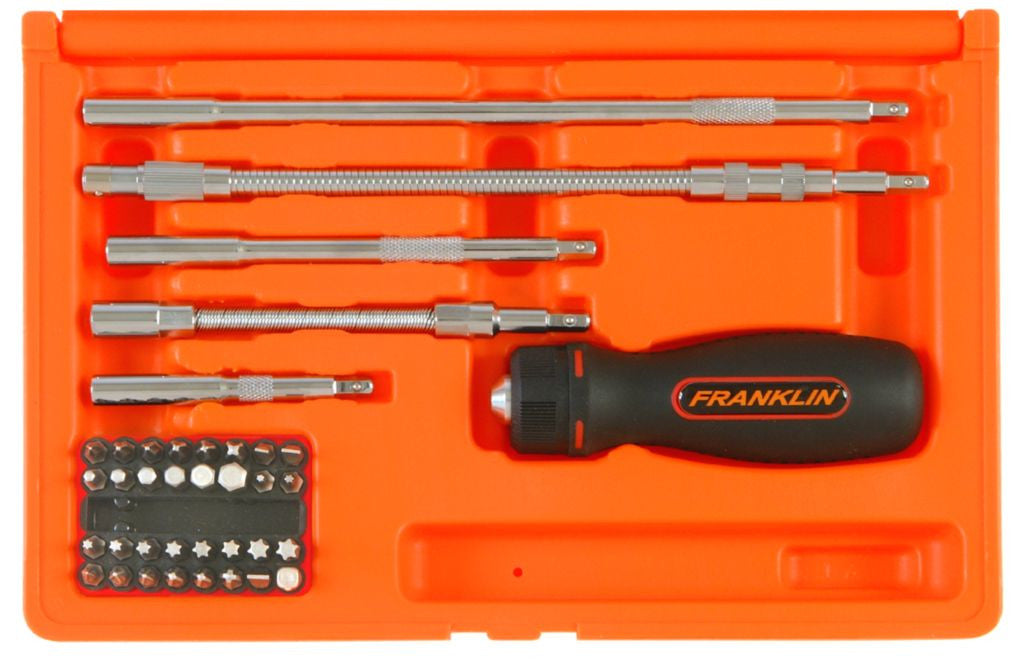 Franklin Tools 38pce Ratchet Screwdriver Set 8738