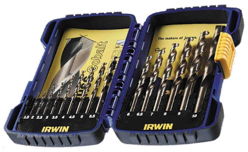 Franklin Tools Irwin 15pce HS Cobalt Pro Drill Set A03990