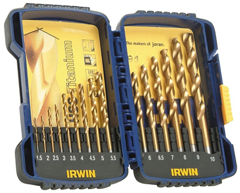 Franklin Tools Irwin 15pce HSTiN Pro Drill Set A03991