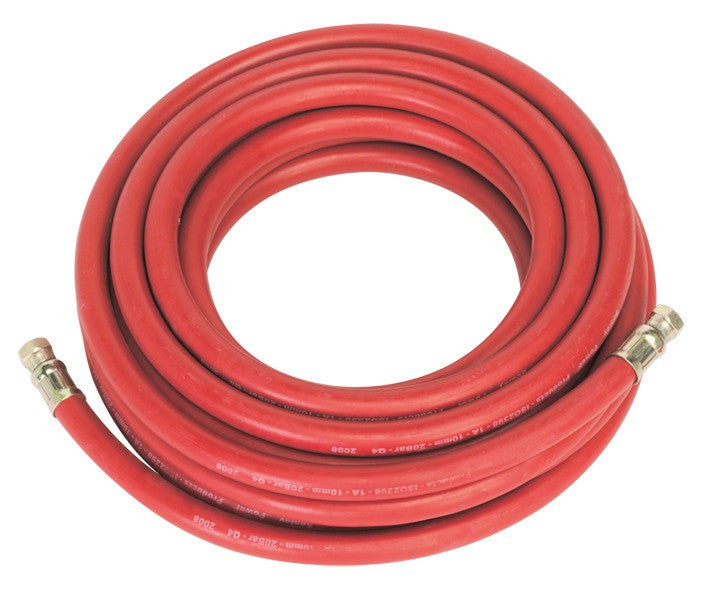 "Sealey Air Hose 10mtr x Ø10mm with 1/4""BSP Unions AHC1038"