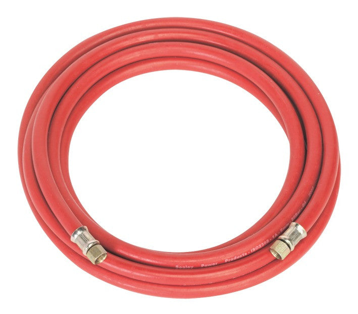 "Sealey Air Hose 5mtr x Ø8mm with 1/4""BSP Unions AHC5"