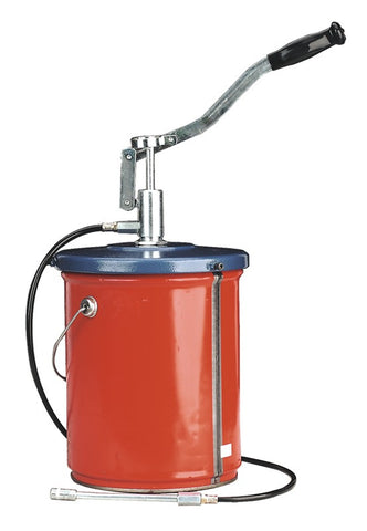 Sealey Bucket Greaser with Follower Plate 12.5kg Extra Heavy-Duty AK455