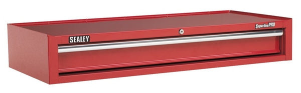 Sealey Add-On Chest 1 Drawer with Ball Bearing Runners Heavy-Duty- Red AP41119