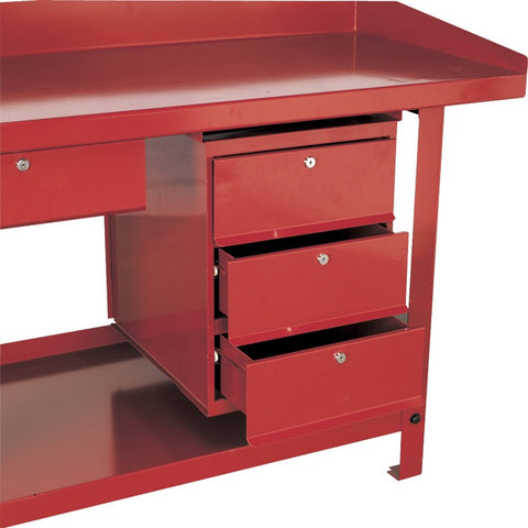 Sealey 3 Drawer Unit for AP10 & AP30 Series Benches AP3