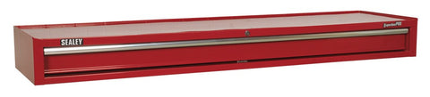 Sealey Add-On Chest 1 Drawer with Ball Bearing Runners Heavy-Duty - Red AP6601