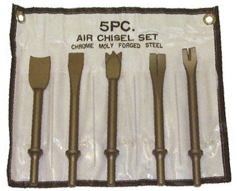 Franklin Tools PCL 5 pce Air Chisel Set  APT20