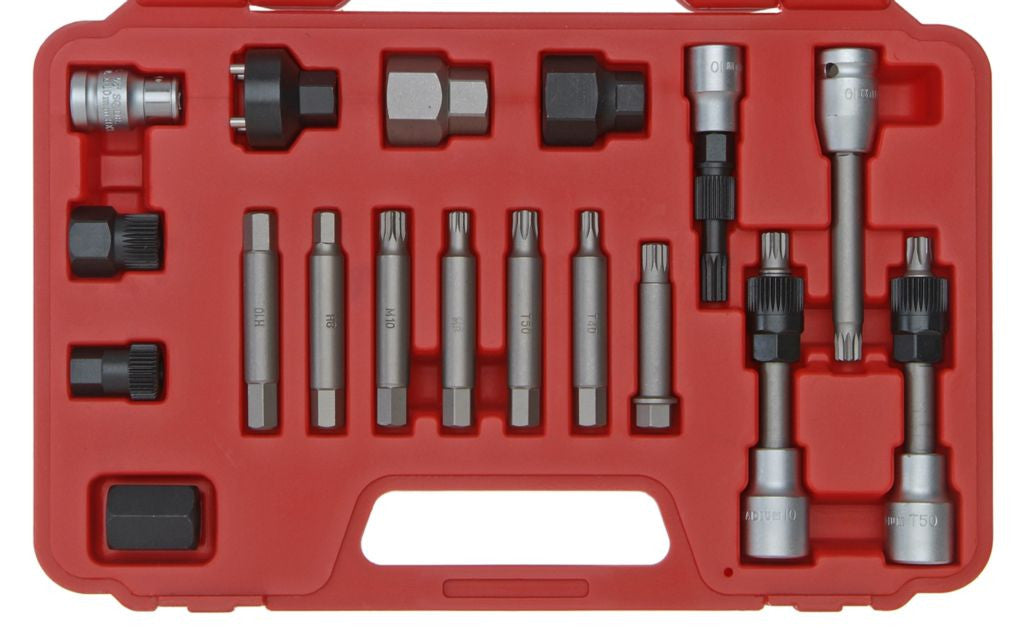 Franklin Tools 18pc Alternator Pulley Tool Set AT1770