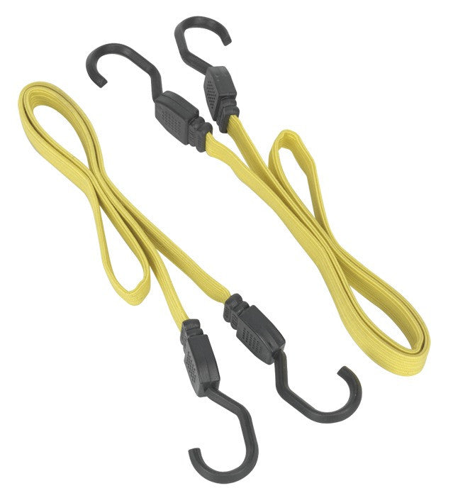 Sealey 910mm Flat Bungee Cord Set 2pc BCS18