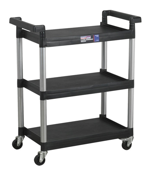 Sealey 3-Level Workshop Trolley CX308