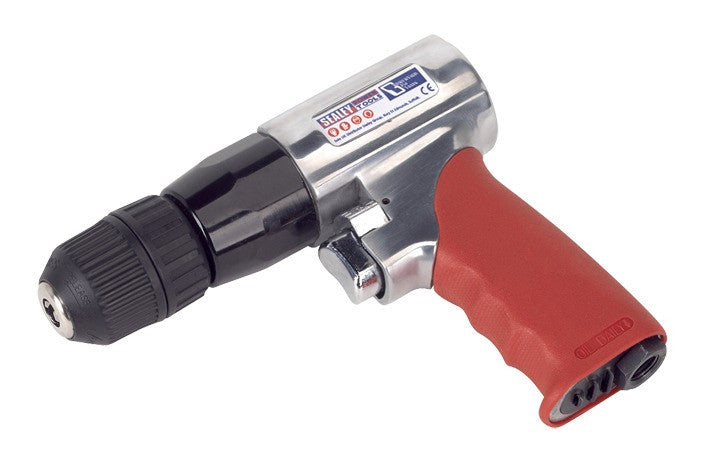 Sealey 10mm Reversible Air Drill with Keyless Chuck GSA241