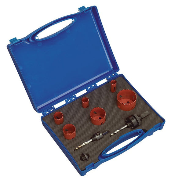 Sealey Hole-Saw Kit Electrician's 9pc HKE9