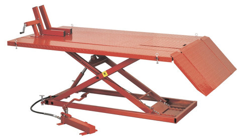 Sealey Mini Tractor/Quad/Motorcycle Lift 680kg Capacity Hydraulic MT680