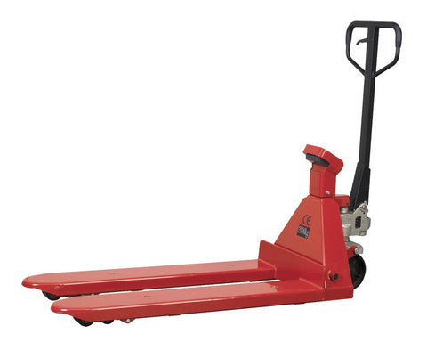 Sealey Pallet Truck 2000kg 1150 x 555mm with Scales PT1150SC