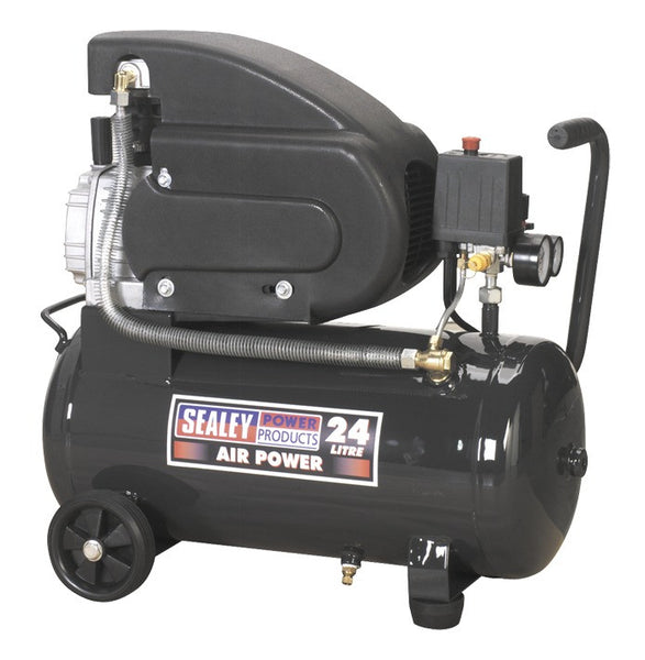 Sealey Compressor 24ltr Direct Drive 2hp SAC2420E