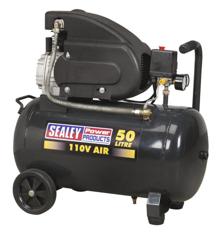 Sealey Compressor 50ltr Direct Drive 2hp 110V SAC5020E110V