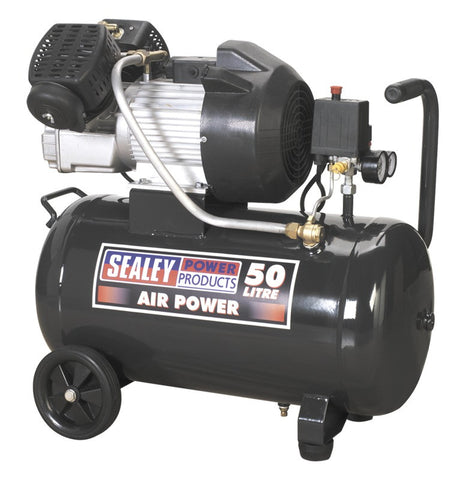 Sealey Compressor 50ltr V-Twin Direct Drive 3hp SAC5030VE