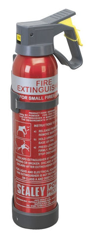 Sealey 0.6kg Dry Powder Fire Extinguisher - Disposable SDPE006D
