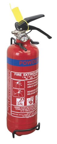 Sealey 1kg Dry Powder Fire Extinguisher SDPE01