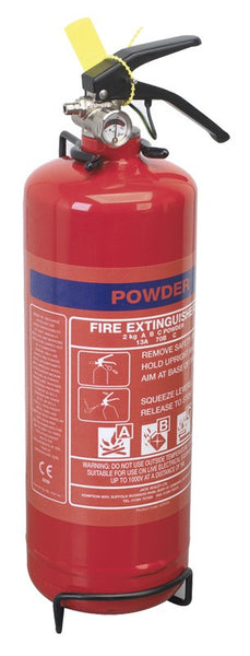 Sealey 2kg Dry Powder Fire Extinguisher SDPE02