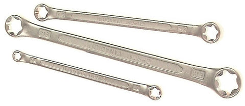 Franklin Tools 3pce Star Ring Spanners E6-E18 SE300