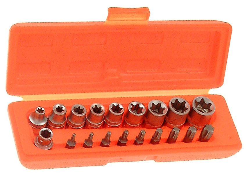 Franklin Tools 18 pce Star Bit & Socket Set SE600