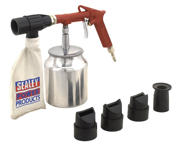 Sealey Air Recirculating Economy Sand Blasting Kit SG10E