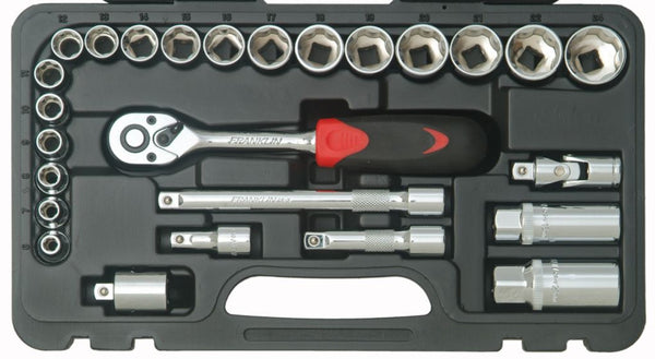 "Franklin Tools 26pc Socket Set 72T 3/8"" dr XL3826"