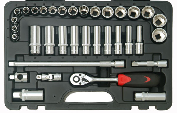"Franklin Tools 35pc Socket Set 72T 3/8"" dr XL3835"