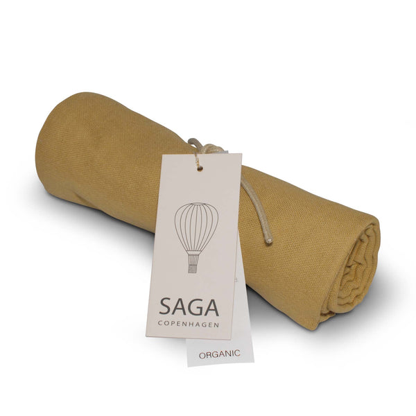 Saga Copenhagen Muslin Cloth in Mustard