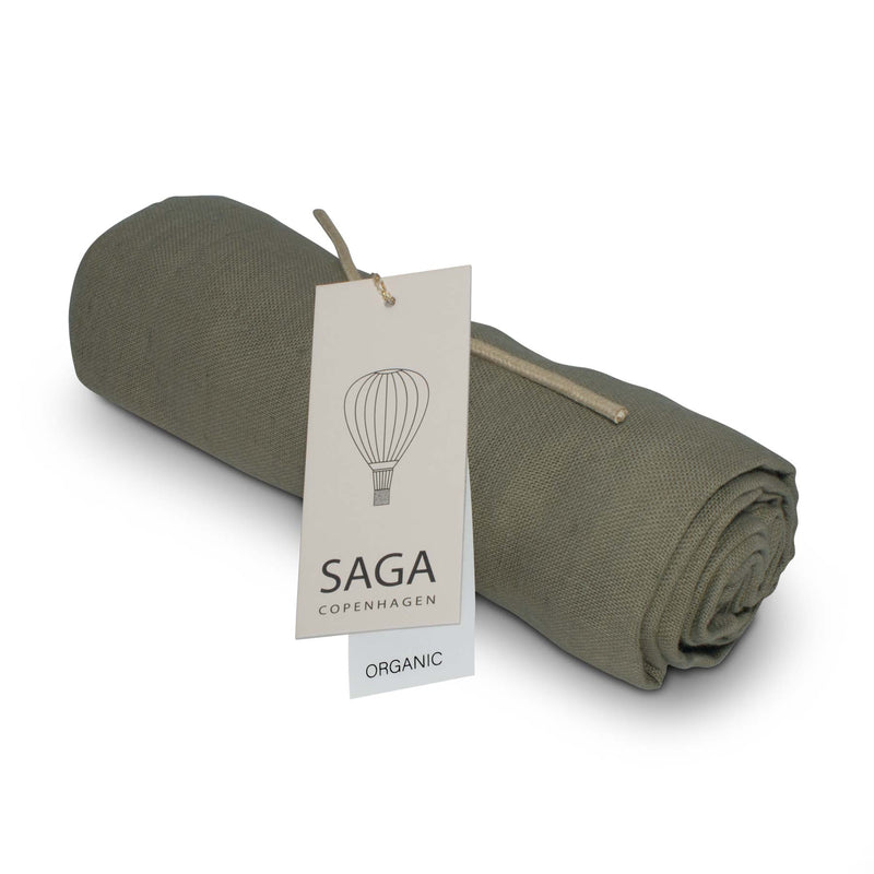 Saga Copenhagen Muslin Cloth in Olive