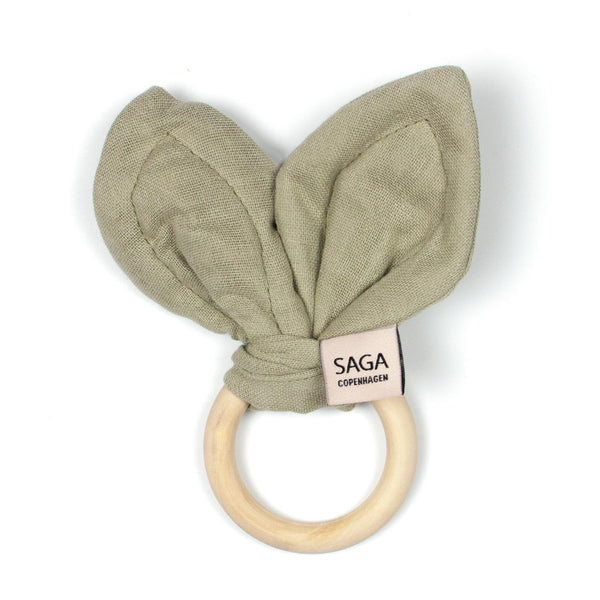 Saga Copenhagen Teething Ring - Green Tea