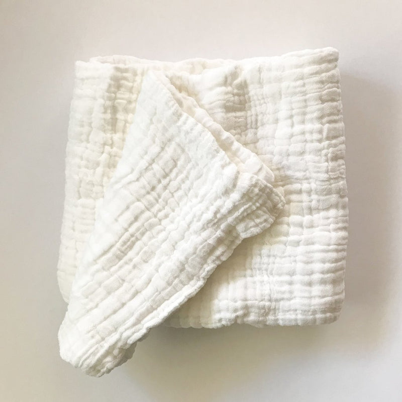 Organic Cotton Quilted Blanket