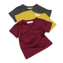Set of 3 x Bamboo T Shirts