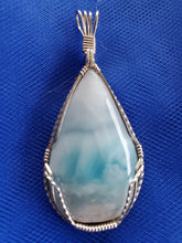 Load image into Gallery viewer, Custom Larimar From Dominican Republic Necklace